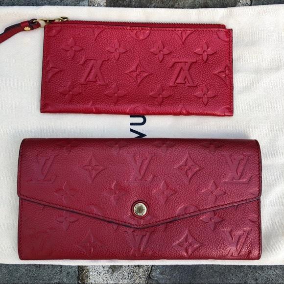 Louis Vuitton Handbags - LV Wallet Portefeuille Empreinte DUST BAG & INSERT